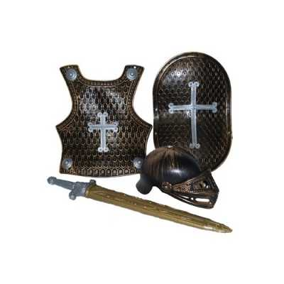 4-delige ridder set brons
