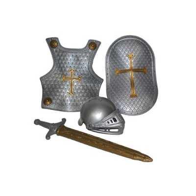 4-delige ridder set zilver