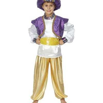 Aladdin verkleed kleren jongens