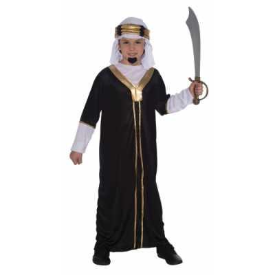 Arabieren feest outfit inclusief hoofddoek kinderen