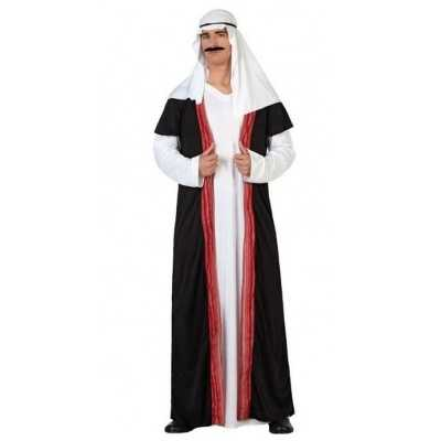 Arabische sjeik 1001 nacht verkleed feest outfit/gewaad heren