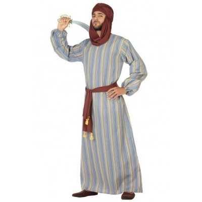 Arabische strijder ali verkleed feest outfit/gewaad heren