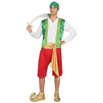 Arabische strijder amir verkleed feest outfit heren