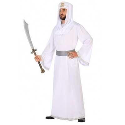 Arabische strijder hassan verkleed feest outfit/gewaad heren