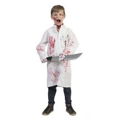 Bebloede doktersjas kinderen maat 128