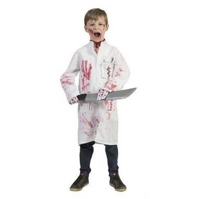 Bebloede doktersjas kinderen maat 164