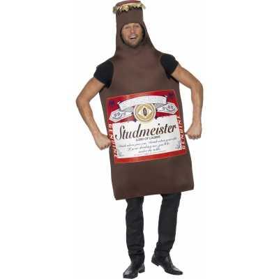 Bierfles verkleed feest outfit