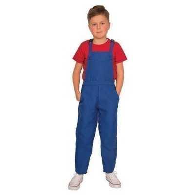 Blauwe tuinbroek overall kinderen