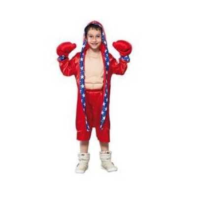 Bokser feest outfits kinderen rood