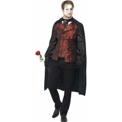 Carnaval Dark Opera feest outfit heren