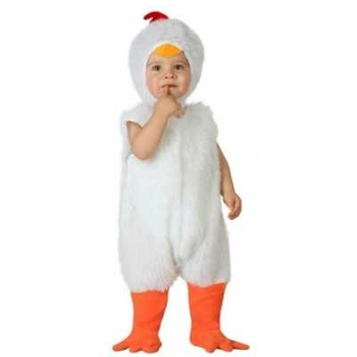 Carnaval kippen feest outfit peuters