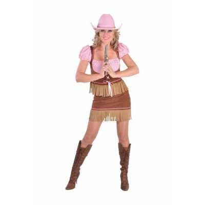 Carnavals feest outfit cowgirl dames