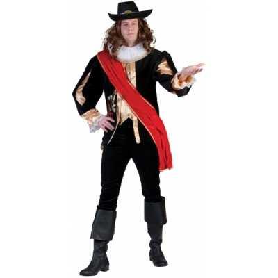 Carnavals musketierspak mannen