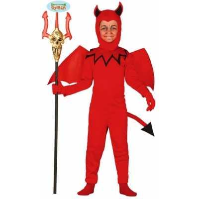 Carnavals outfit kinderen duiveltje