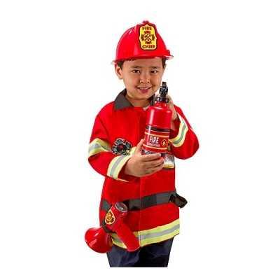 Carnavalskleding brandweer kids