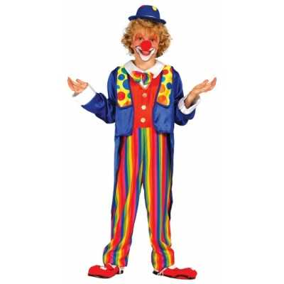 Carnavalskleding clown feest outfit kinderen