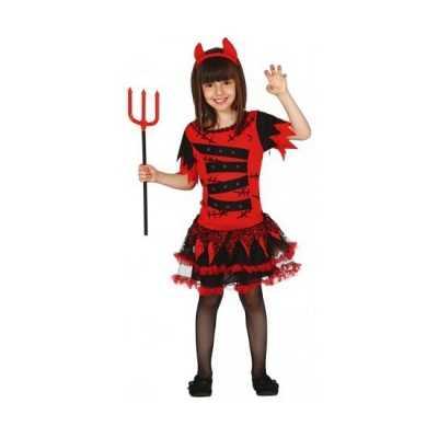 Carnavalskleding duivel meisjes