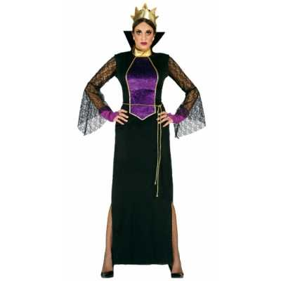 Carnavalskleding luxe heksen jurk dames