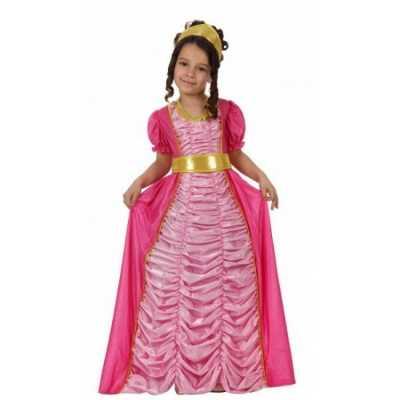 Carnavalskleding prinses roze meisjes