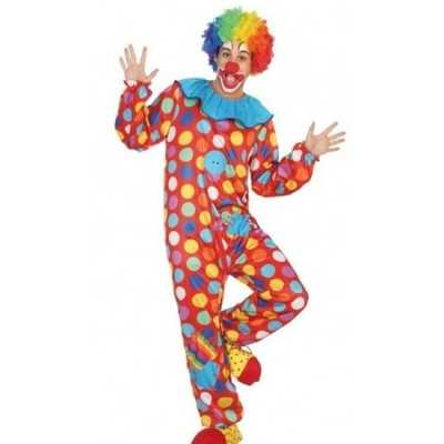 Clown verkleed outfit/kostuum heren