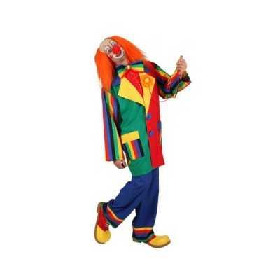 Clown verkleed outfit mannen