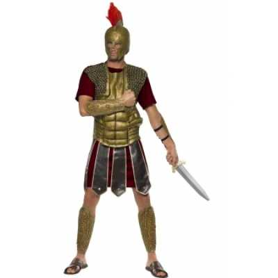 Compleet feest outfit Perseus gladiator