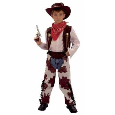 Cowboy carnavalskostuum kinderen