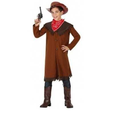Cowboy john verkleed feest outfit jongens