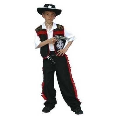 Cowboy verkleed feest outfit jongens