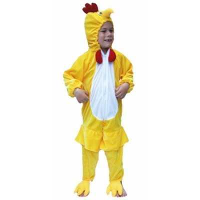 Dieren feest outfit kip kids
