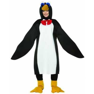 Dieren feest outfit pinguin volwassenen