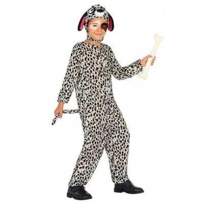 Dierenpak hond/honden verkleed feest outfit dalmatier kinderen