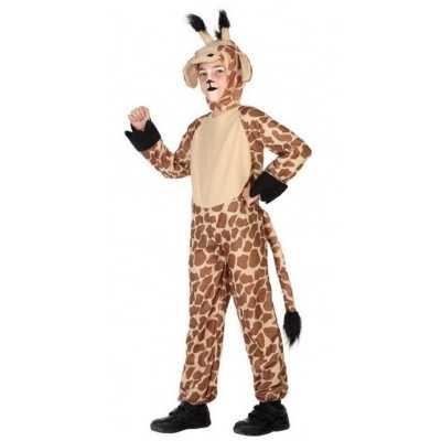 Dierenpak verkleed feest outfit giraffe kinderen