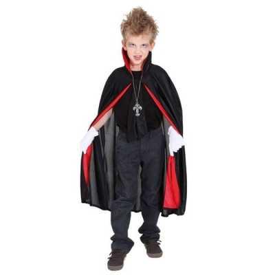 Dracula/vampier verkleed cape kinderen