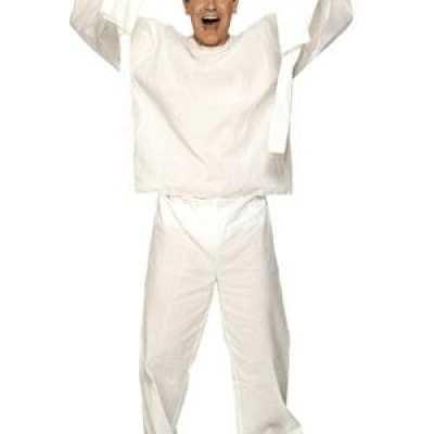 Dwangbuis patient feest outfit