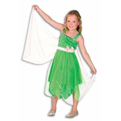 Elfjes jurkje vleugels groen