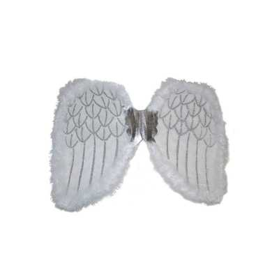 Engelen verkleed vleugels wit 36