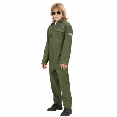 F 16 piloot feest outfit kinderen