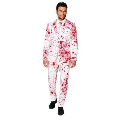 Feest feest outfit bloedspatten print