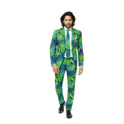 Feest feest outfit jungle print