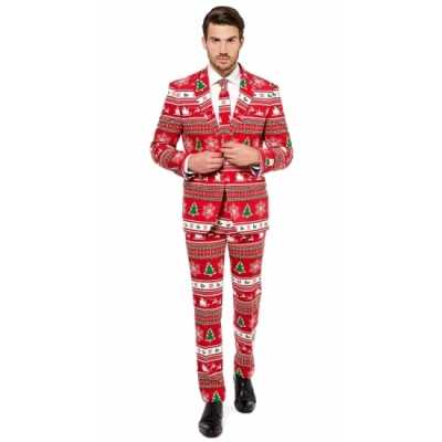 Feest feest outfit kerstmis print