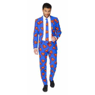 Feest feest outfit superman print 10059592