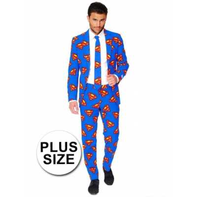 Feest feest outfit Superman print
