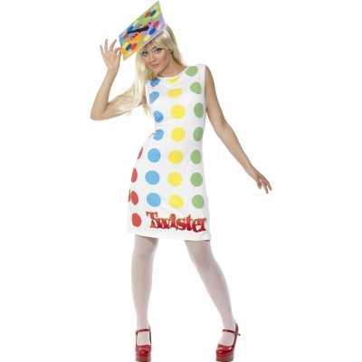Funny verkleedkleding twister outfit