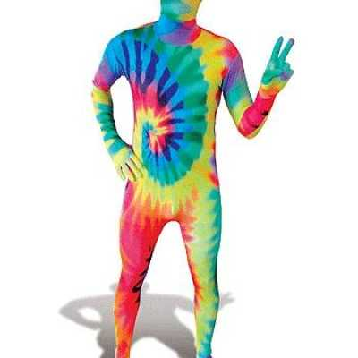 Gekleurde morphsuits