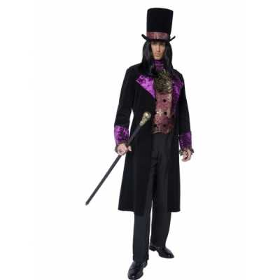 Gothic graaf feest outfit heren