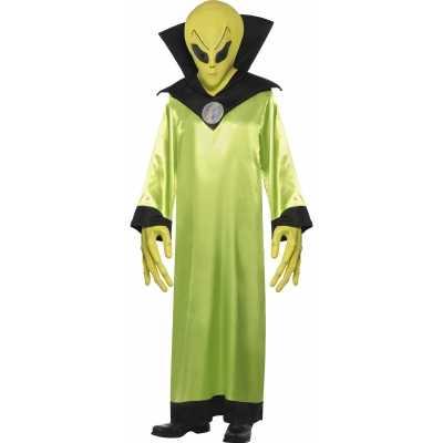 Groen Alien feest outfit volwassenen