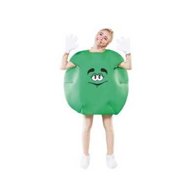 Groen snoep outfit volwassenen