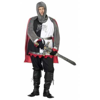 Grote maat middeleeuwse krijgsman feest outfit