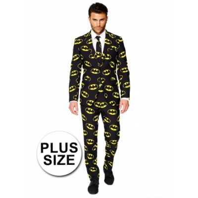 Grote maat outfit Batman print